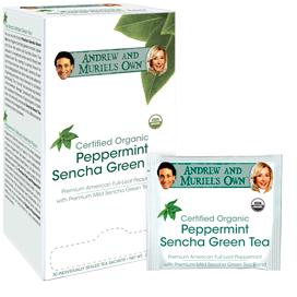Peppermint Sencha Green Tea