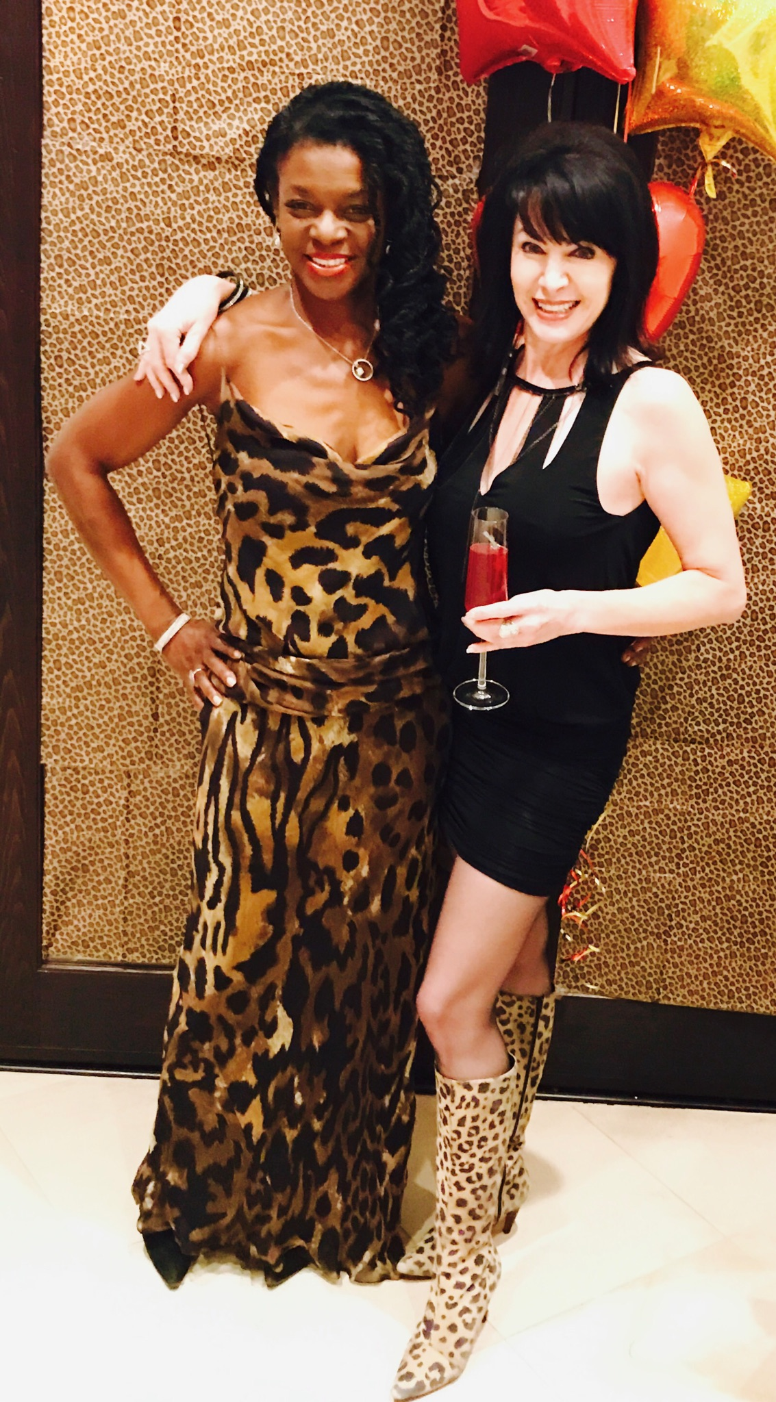 Robin and Michele looking fab!!