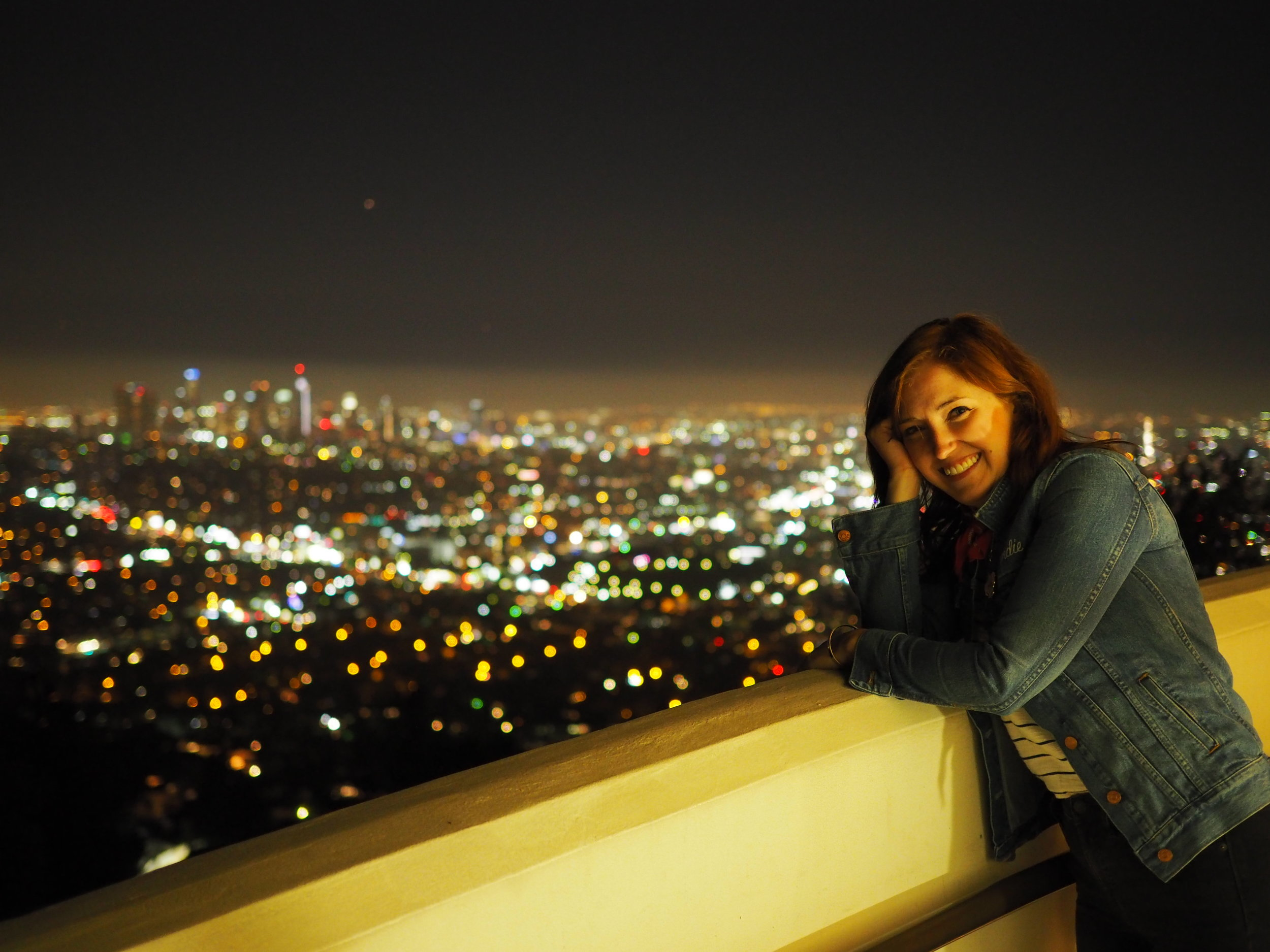 View of downtown LA from the Griffith Observatory, one of my all time favorite places.