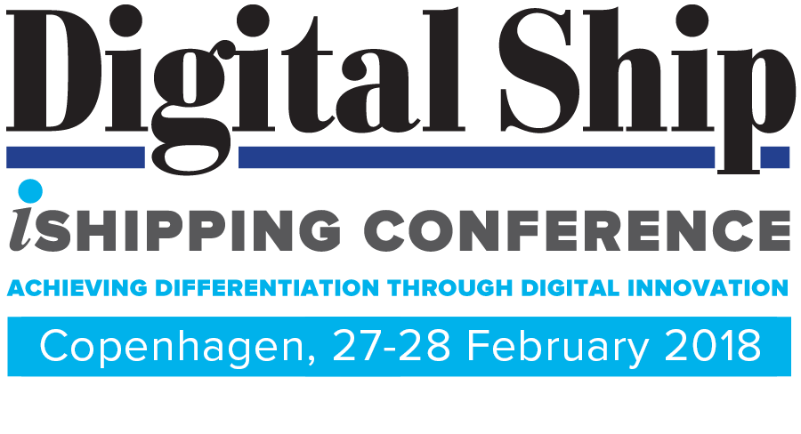 Digital Ship iShipping Conference Copenhagen, 27-28 February 2018