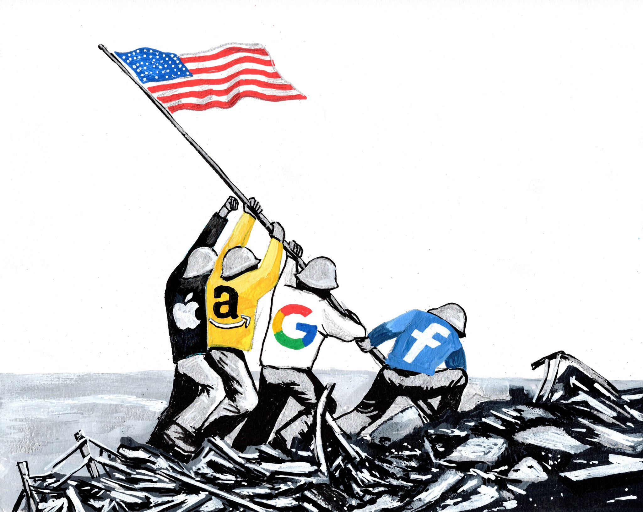 The Phony Patriots of Silicon Valley -