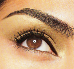Some helpful tips:   Never trim the very last hairs from the eyebrow tail.  Never tweeze the hairs at the end of the eyebrow. Brush and fix them with gel. The longer the better.  Use brow pencil or powder prior to using brow gel to avoid clumping.