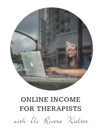 Online Income for Therapists
