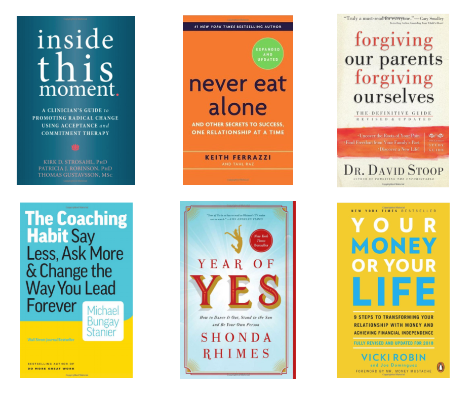 Refreshed Therapist Book Club