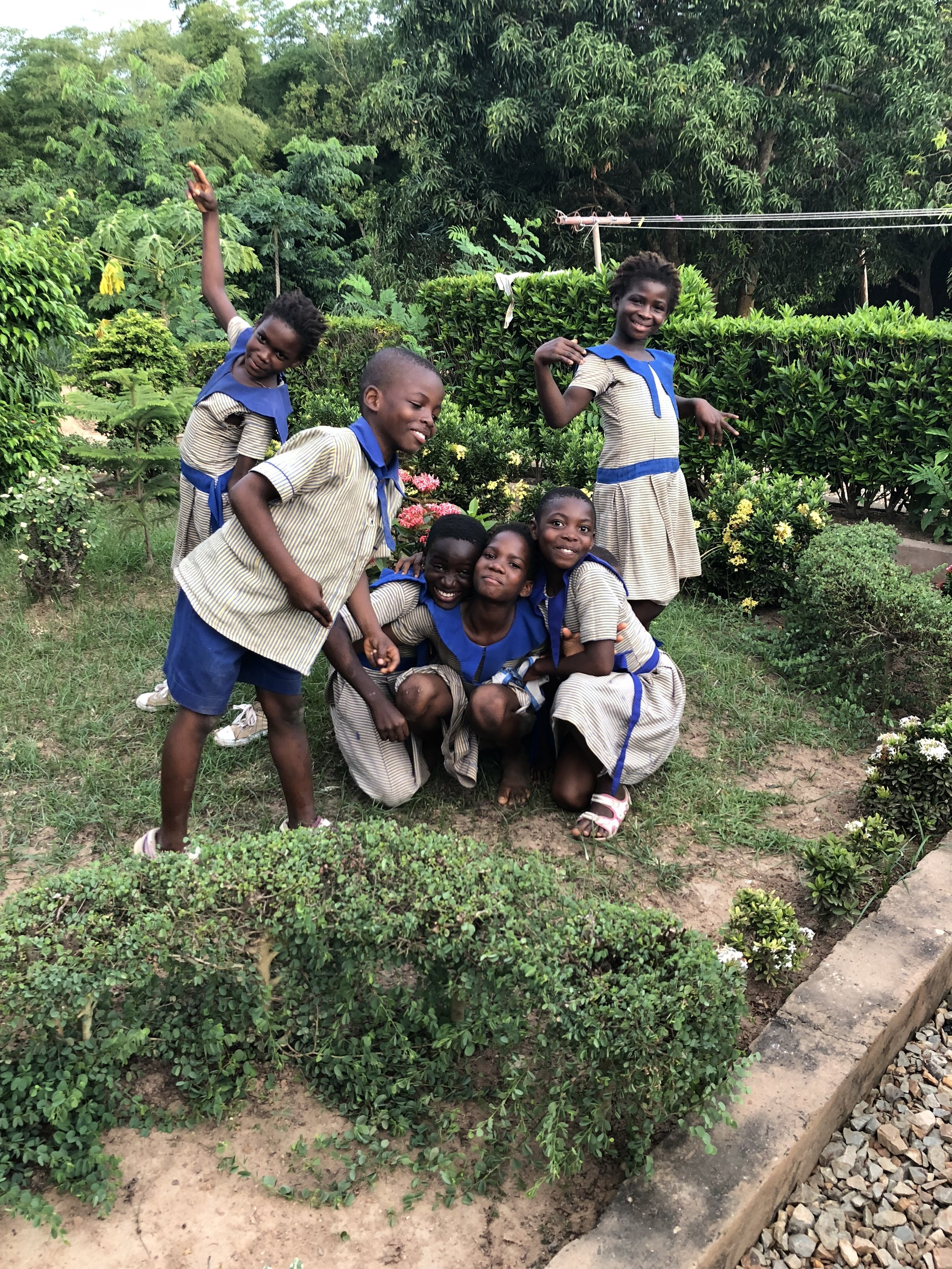 Launching of our sponsorship program! - We are excited to announce that all of the children at Missahoe orphanage and Montessori school are now available to be sponsored! Go to Sponsor a child to learn more!