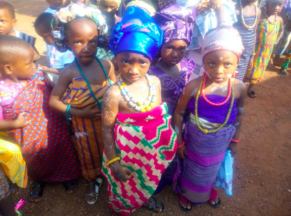 Culture day 2018 - In August, 2018, the Missahoe school was able to hold a Culture Day where students dressed in traditional Ghanian dress and learned about their ancestors and the tribes in which they originated from. This provided an amazing opportunity to combine culture, fun, and learning into our lessons!