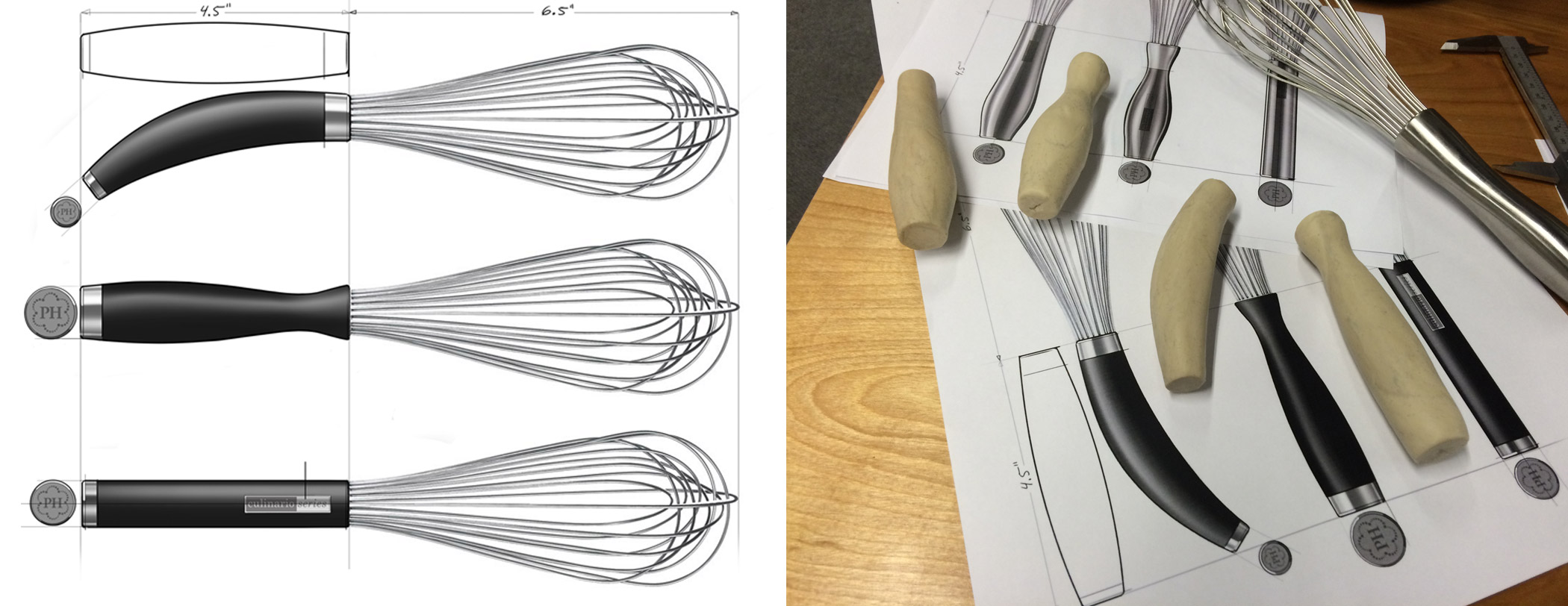 Rough Sketches of Product Concept