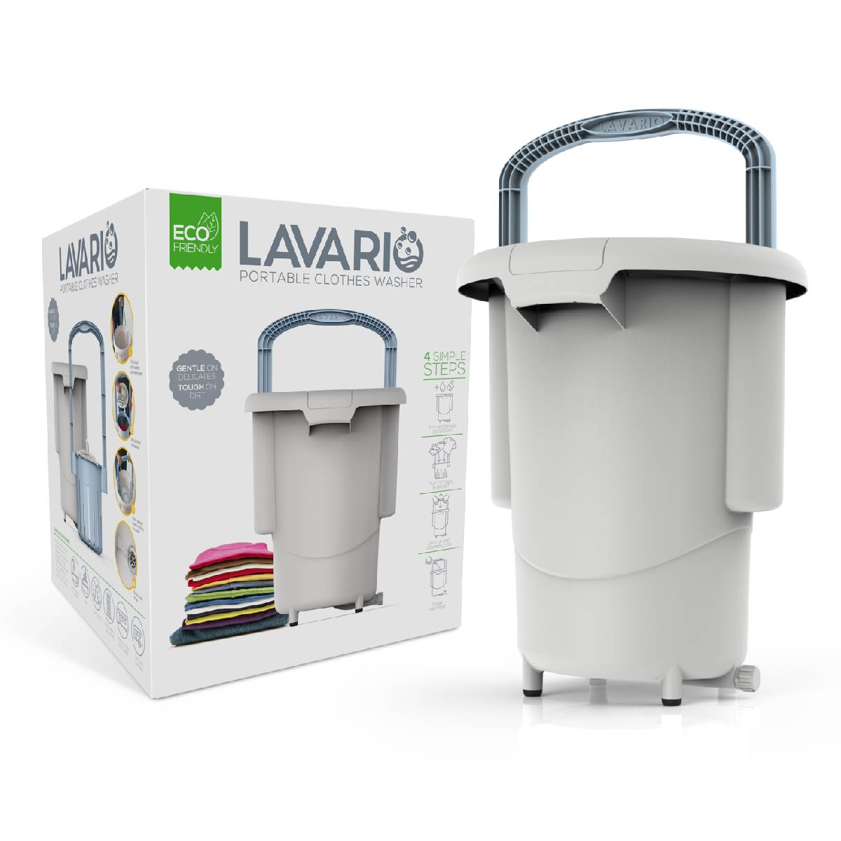 Lavario: The new, environmentally friendly way to do laundry.