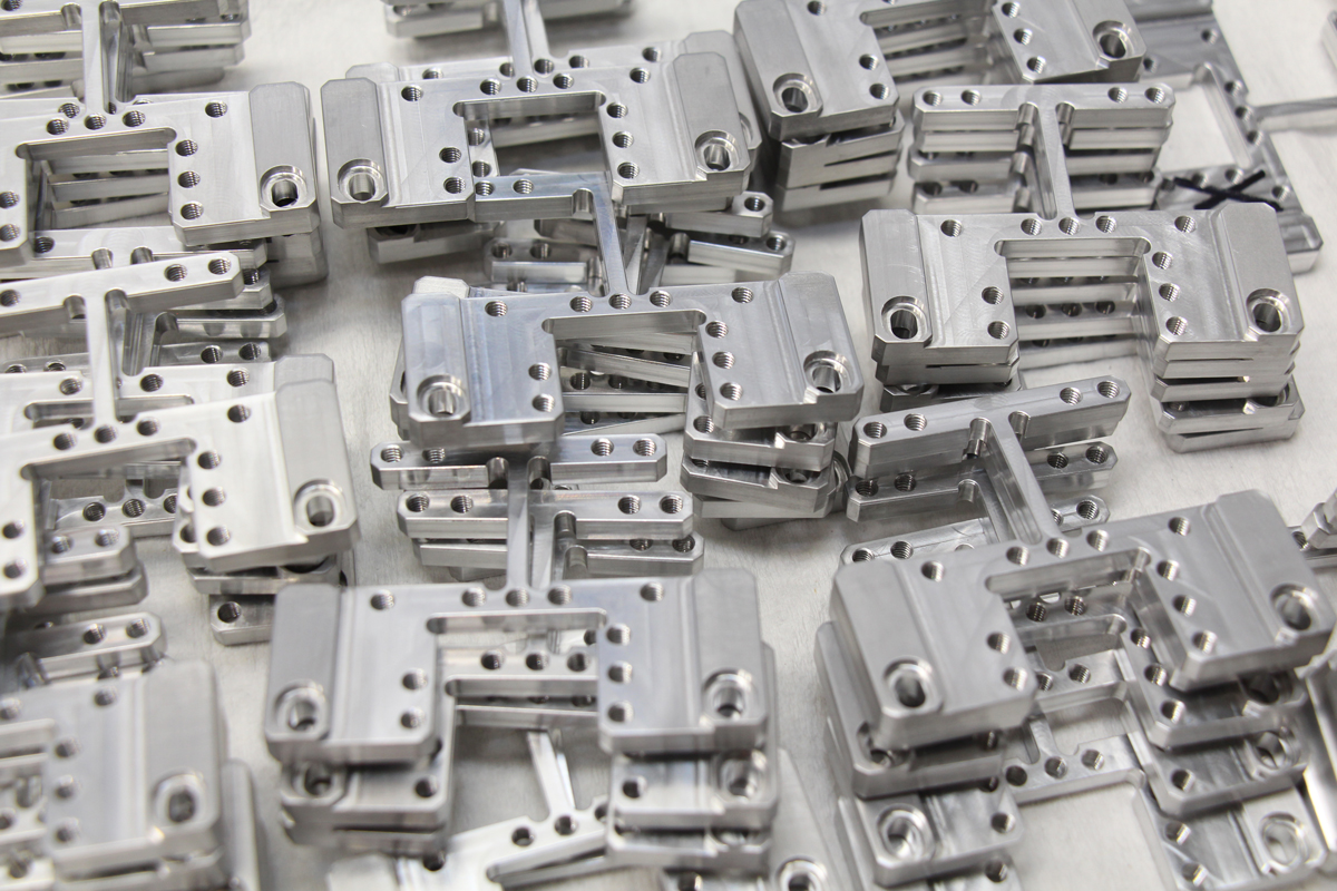 Short-run Production   Custom manufactured parts with accuracy, tight turnarounds and flexible production schedules.