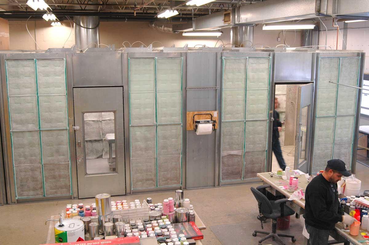 Custom Painting Booths