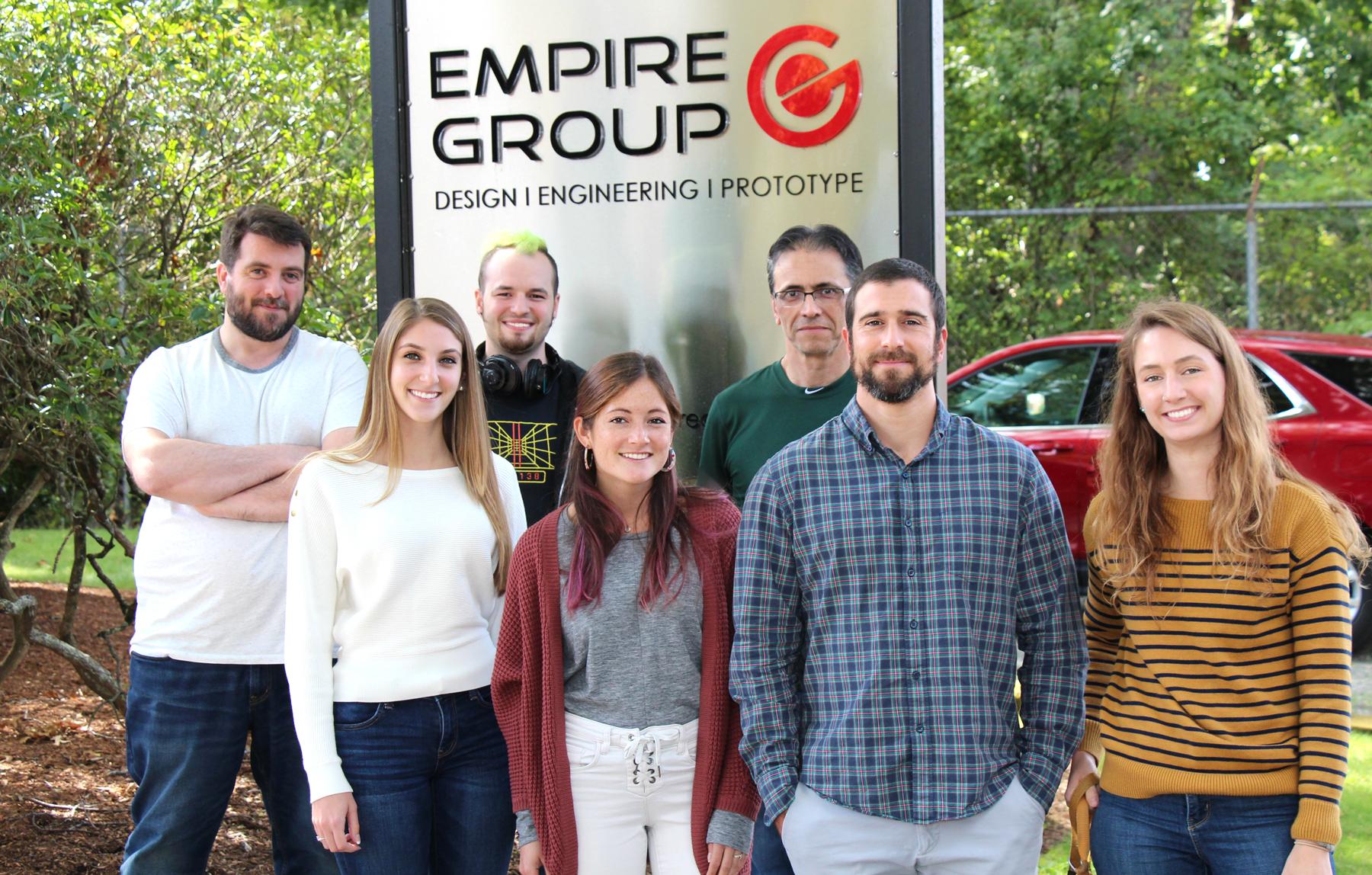 The Empire Group Design & Engineering Team - September 2019