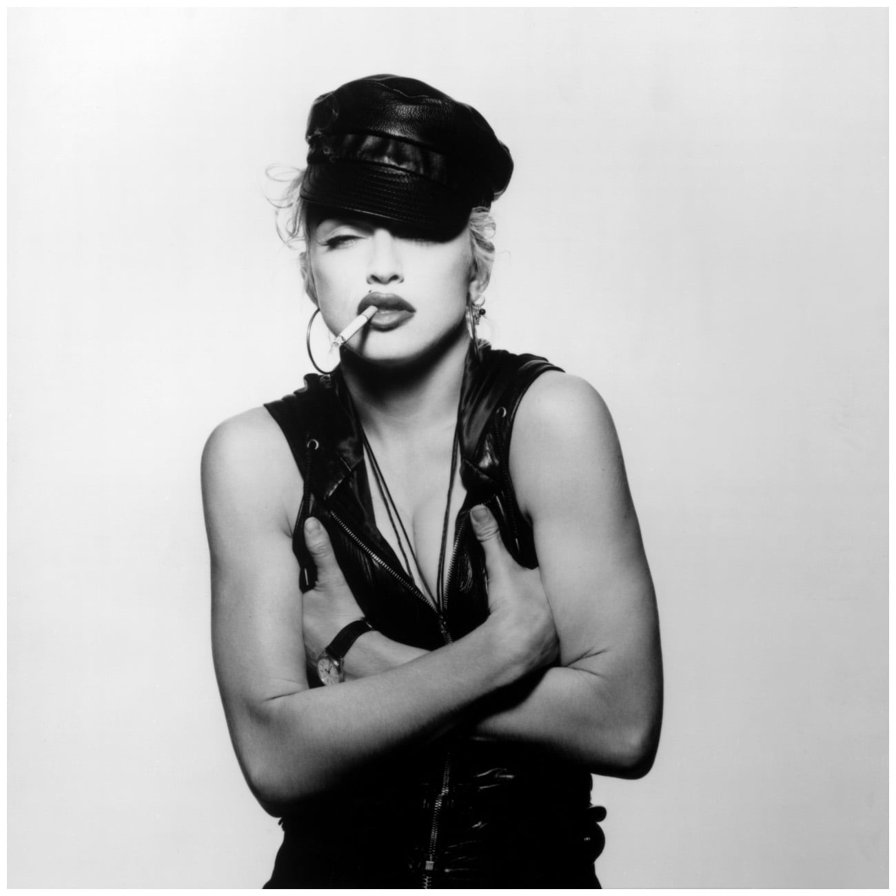 Madonna photographed by Patrick Demarchelier in 1991.