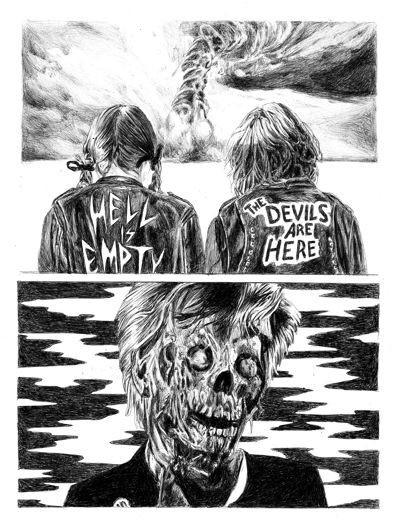 Ricardo Castro- Hell is empty, 2017