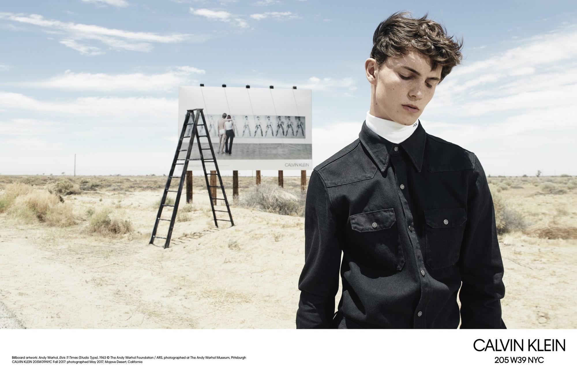 Imágenes cortesía de Calvin Klein.