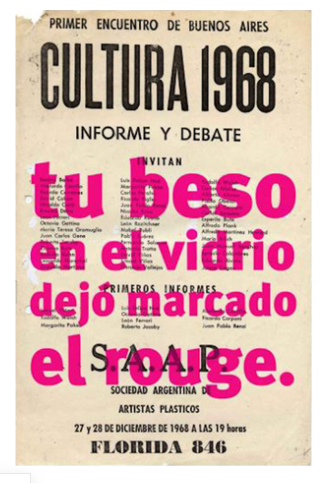 ¡1968, el culo te abrocho!, Roberto Jacoby, 2008