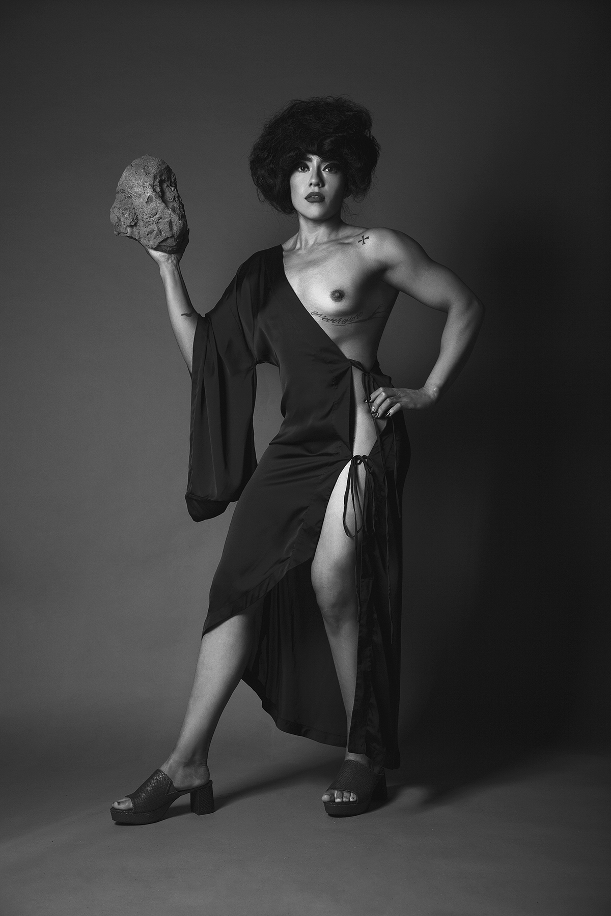 Vestido:  Marika Vera   Zapatos:  Natali Mariel Sznajderman