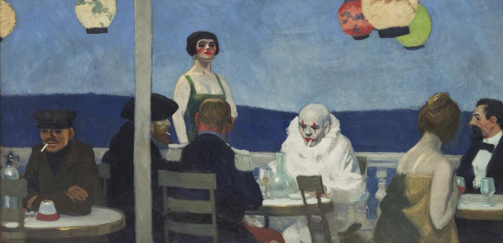 Soir Bleu (1914), E. Hopper.