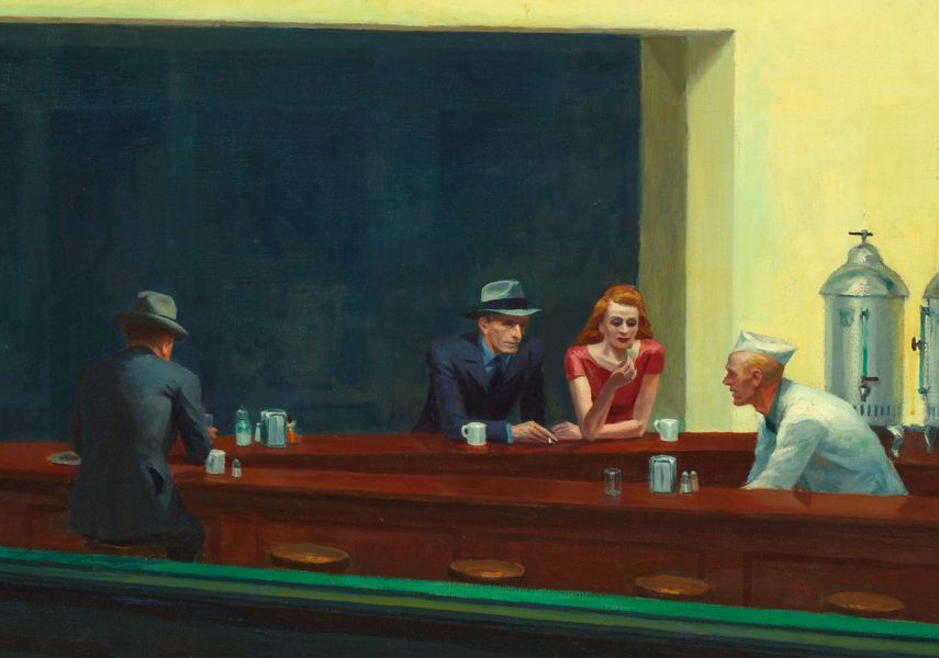 NightWalks (1942), E. Hopper.