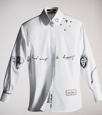 Camisa diseñada por Cara Delevingne.