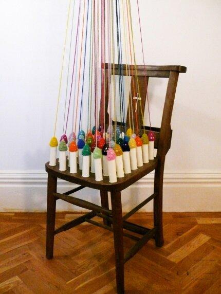 The celestial chair, Helen Beard, 2014.