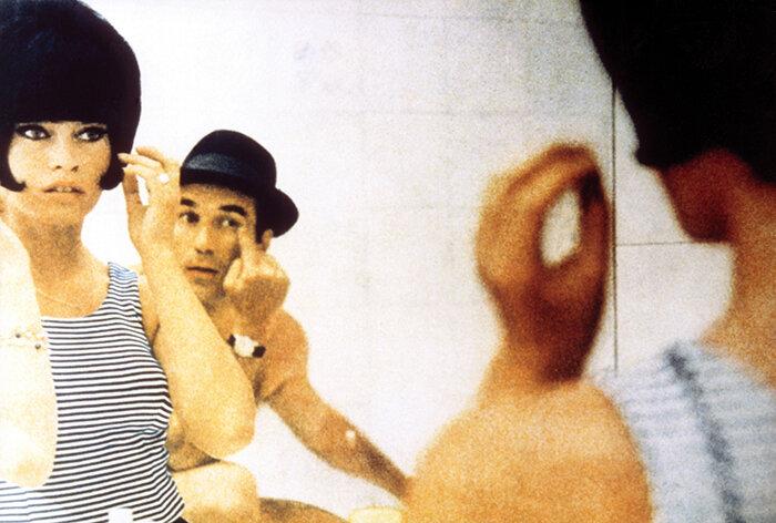 Still de  Le Mépris , con Brigitte Bardot.
