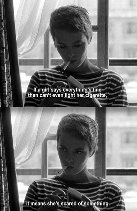 Still de  Breathless , 1960.