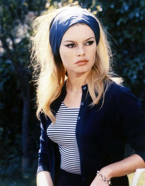 Brigitte Bardot, 1962.
