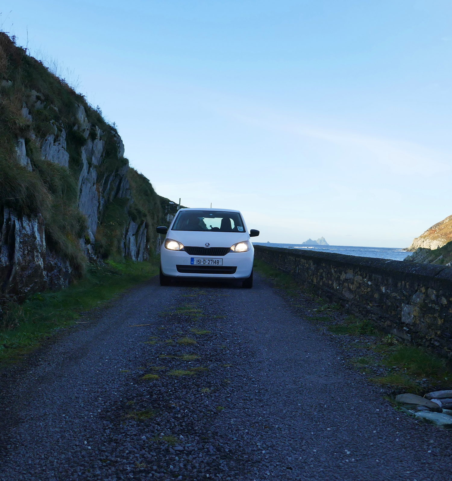 And that's a road meant for 2-way traffic! Ireland.