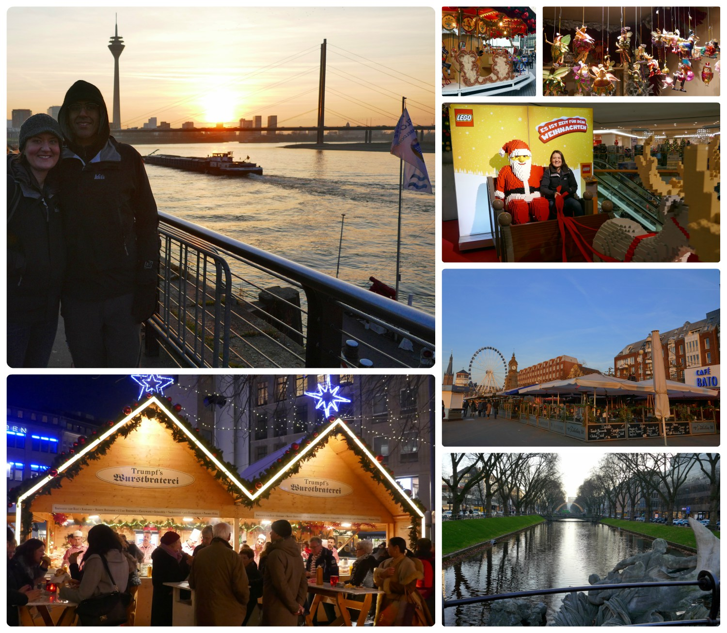 Our day trip to Dusseldorf and the Christmas market.