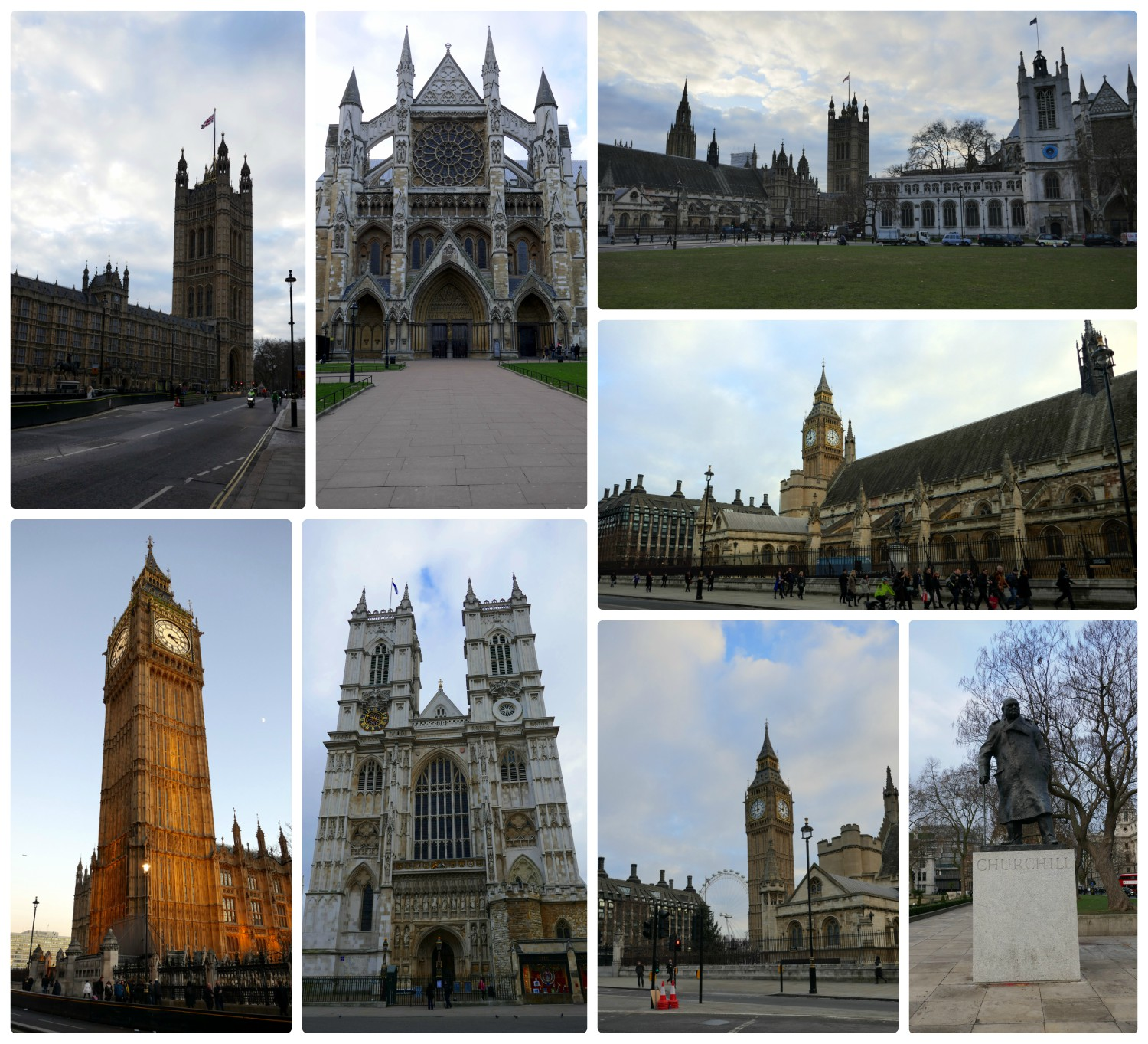 Our first sights of city center London, United Kingdom were breathtaking!