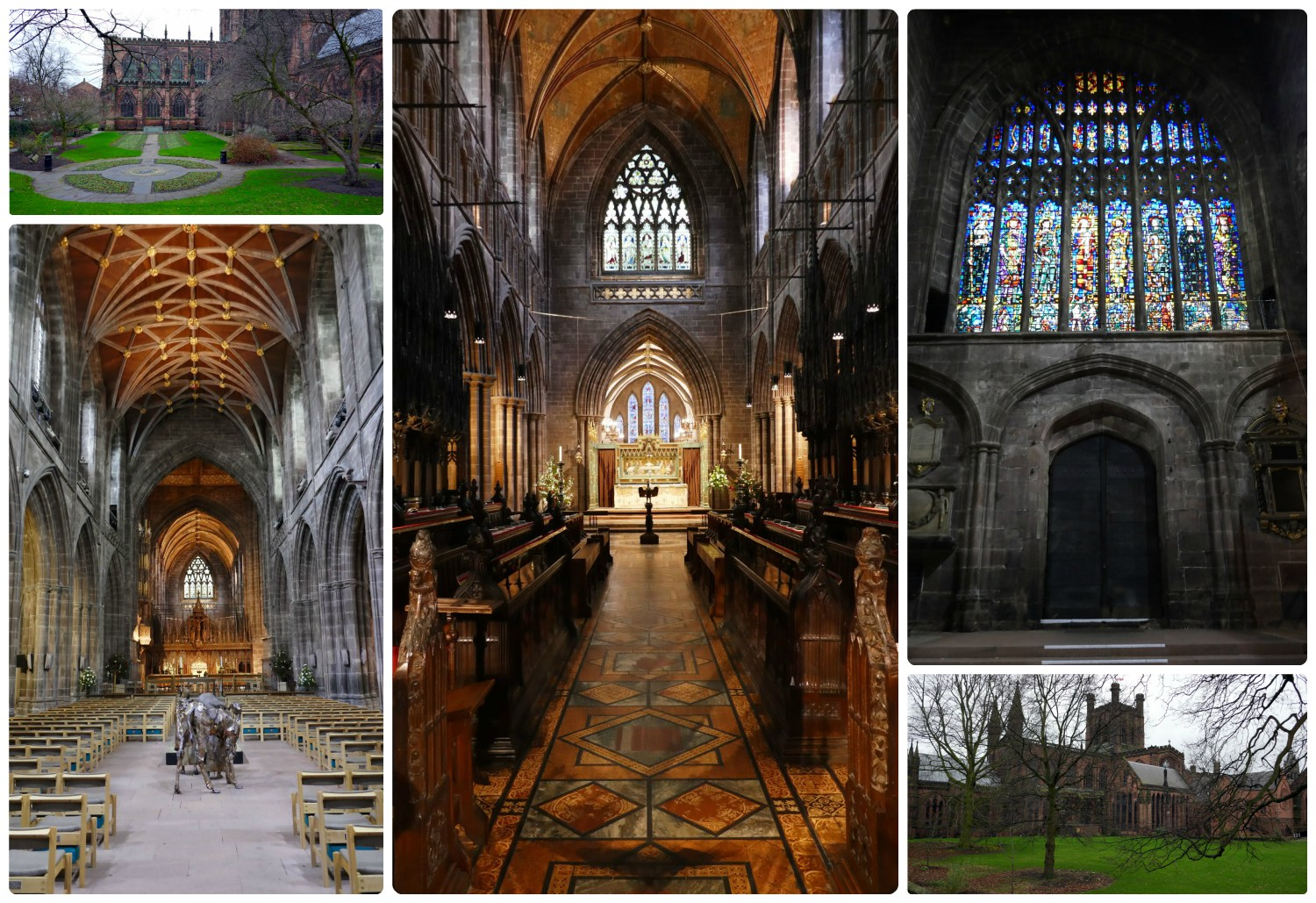 The Chester Cathedral in Chester, United Kingdom is very impressive!