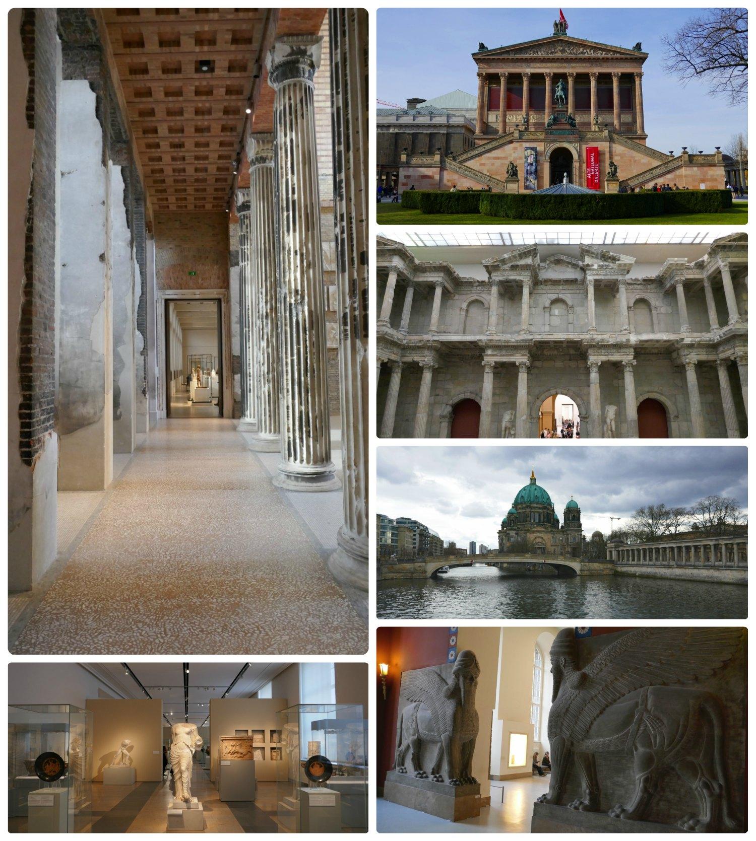 Museums on Berlin's Museum Island in Berlin, Germany.