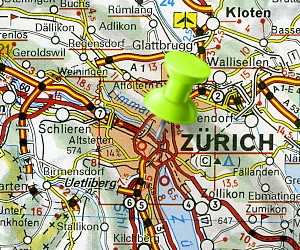 We needed to find some way, any way , to get to Zurich!
