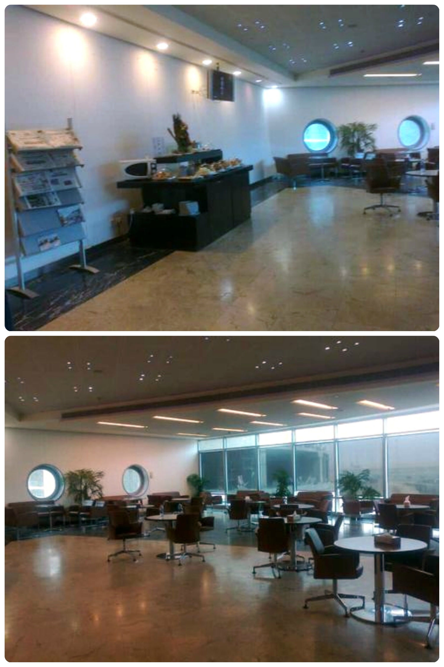 The First Class Lounge in Terminal 3 of the Cairo International Airport (CAI).