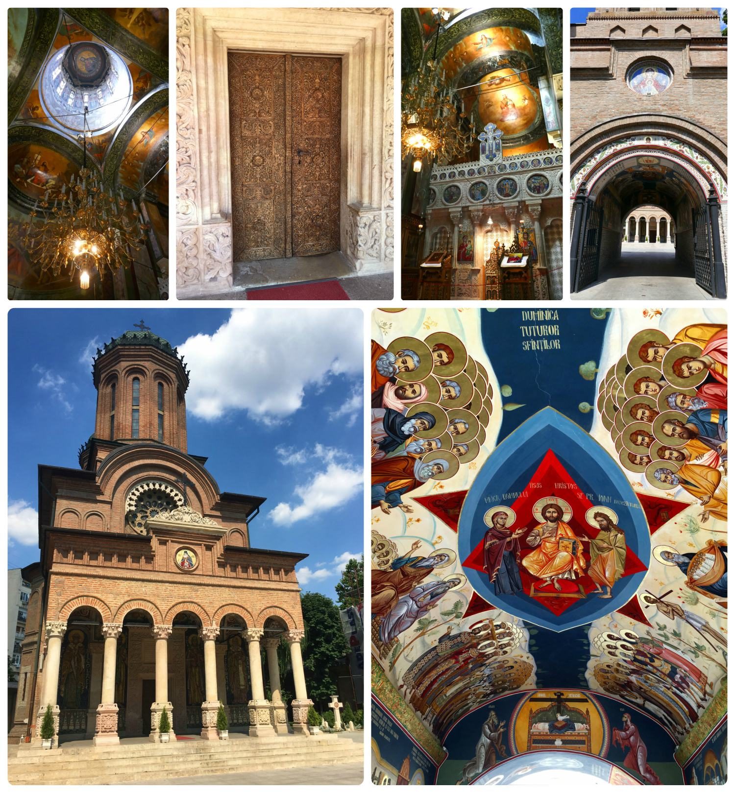 From the murals under the archway of the bell tower to the intricate wood carved doors, the Antim Monastery should definitely be on your sightseeing itenerary.