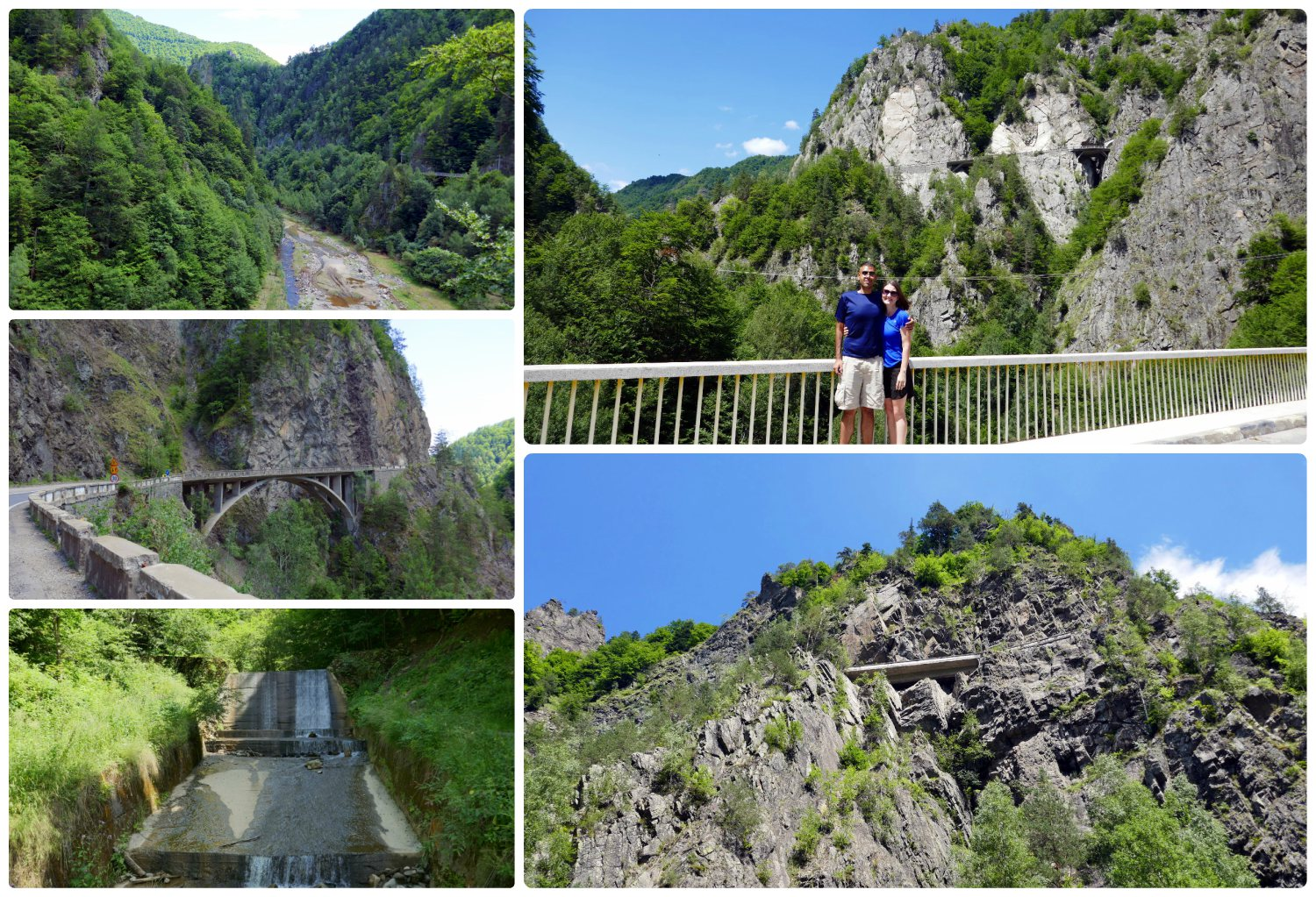 The start of the Transfagarasan Highway is a beautiful drive, full of rock faced mountains, bridges, streams, and tunnels!