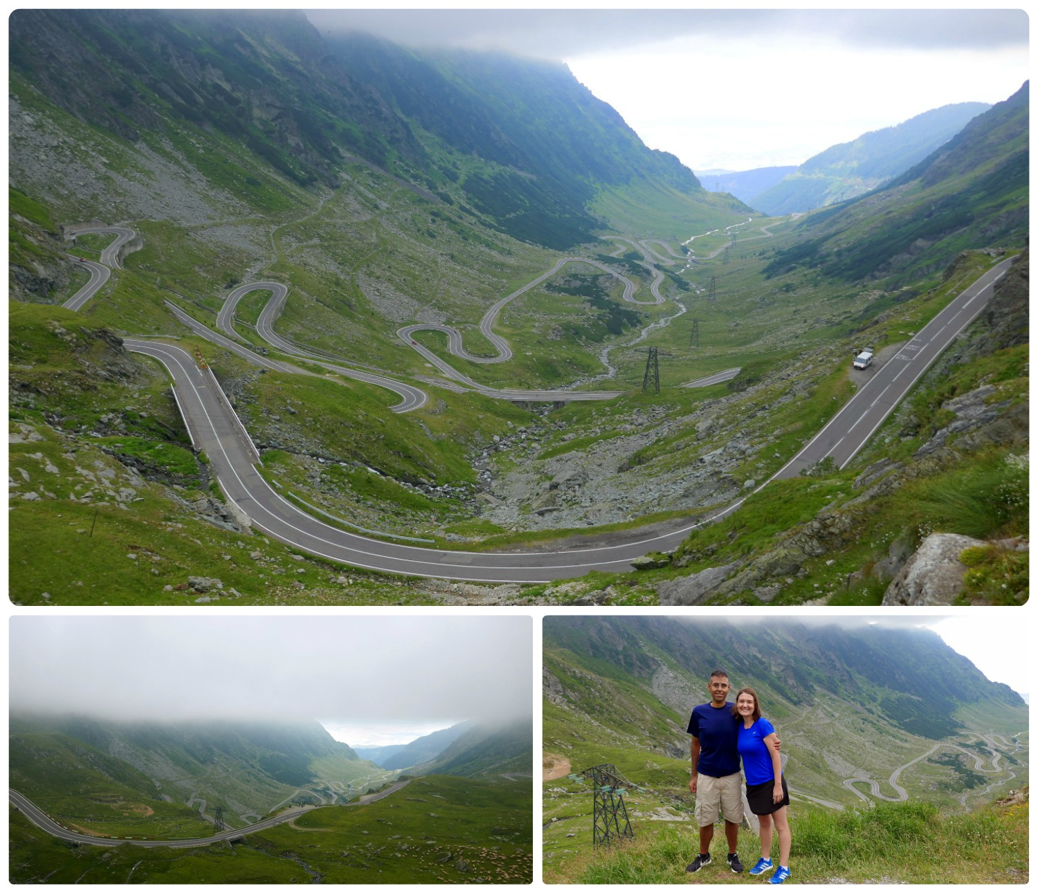 This is the view of the Transfagarasan Highway we were waiting for. The switchbacks through the valley are like almost nothing else!