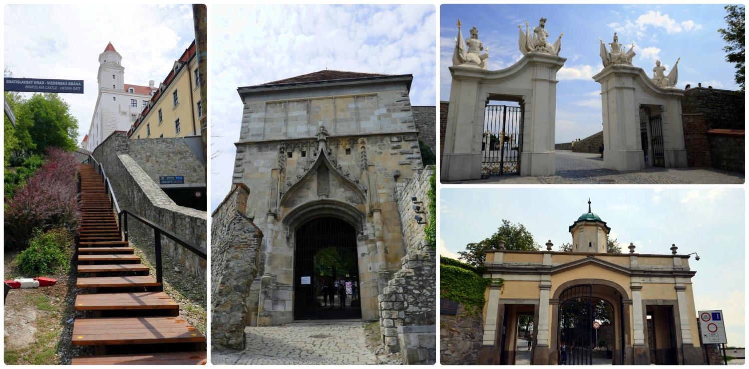 There are many ways to get into the castle, and each gate is unique!
