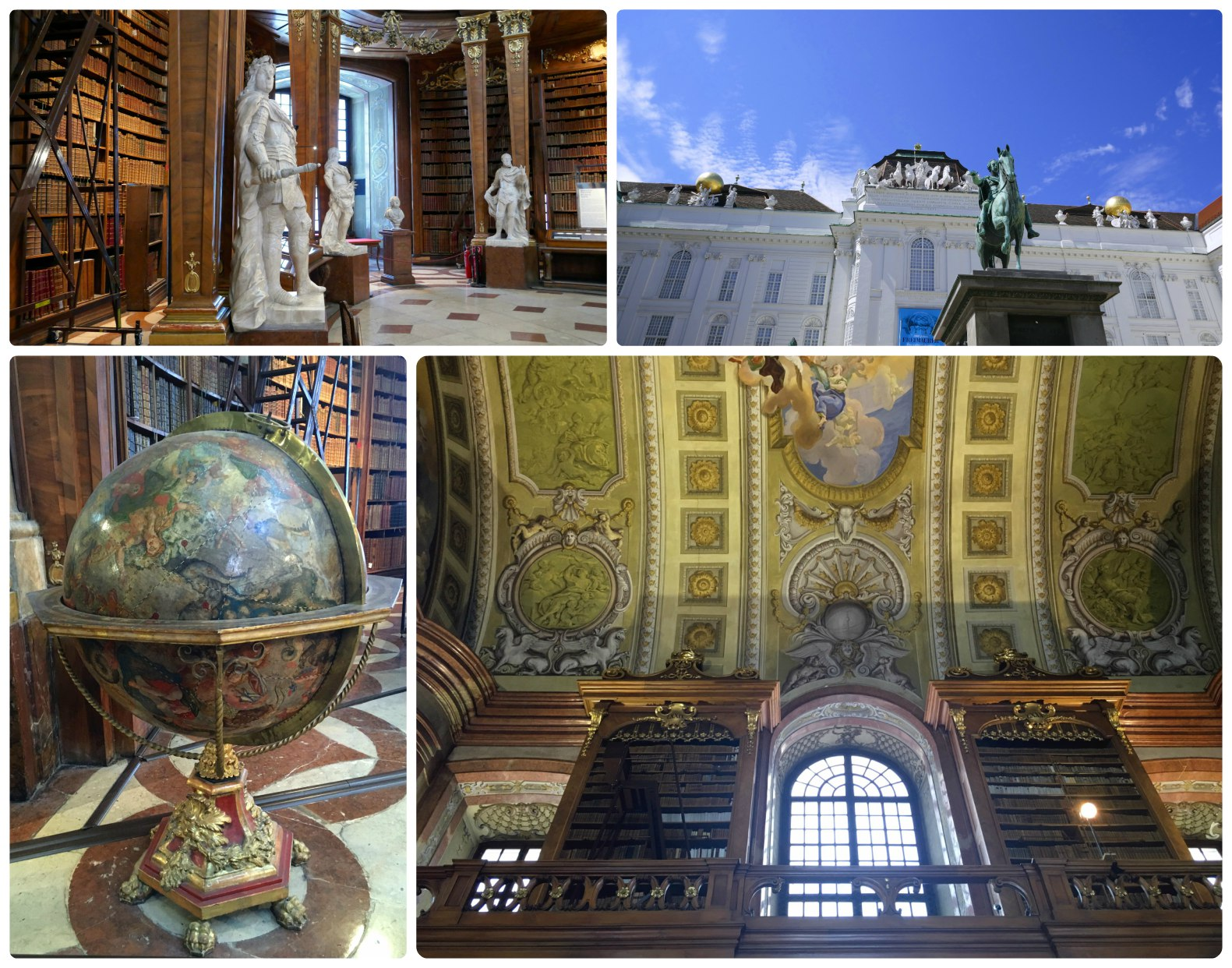 Step inside State Hall and you'll immediately understand why this is considered one of the world's most beautiful libraries.