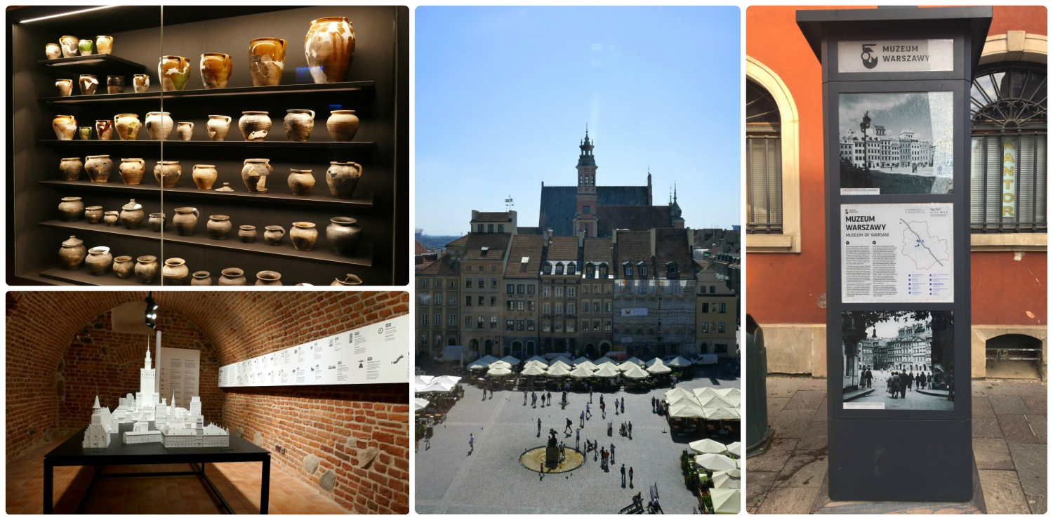 The Museum of Warsaw is a wonderful collection of the city's historical items. Not to mention, visitors are treated with a fantastic view of Old Town Market Square from the top floor. If you aspire to take pictures from the view point, just know that it's obstructed by glass from the windows.