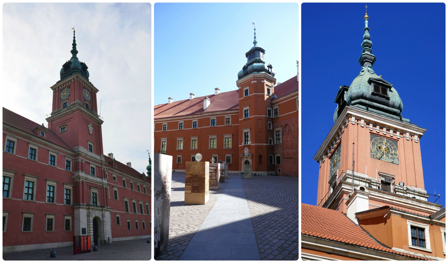 The Royal Castle can be found in Castle Square and can be enjoyed from the square, or from its center courtyard.