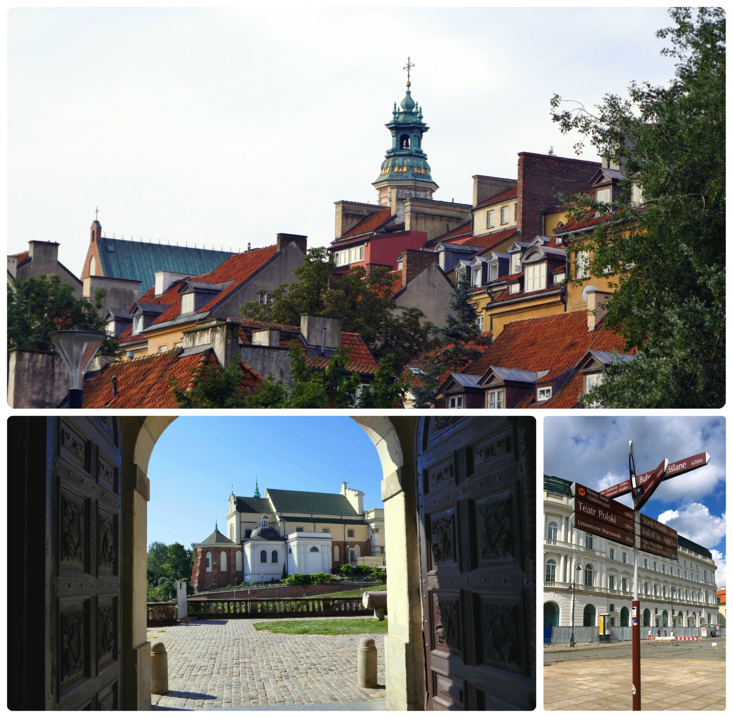The beauty of Old town Warsaw is unmistakeable!