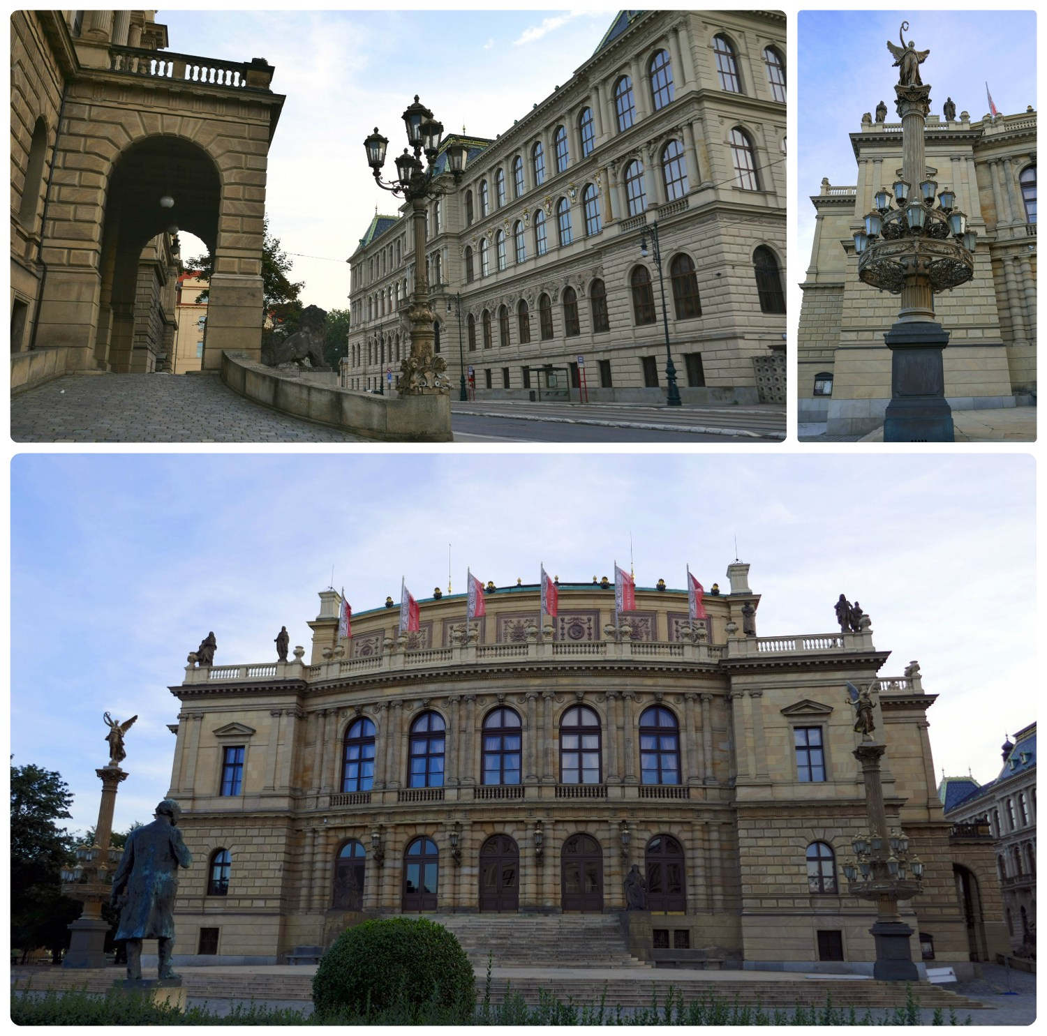 Rudolfinum Hall is beautiful from the exterior, but if you have the chance to see inside, it's spectacular!