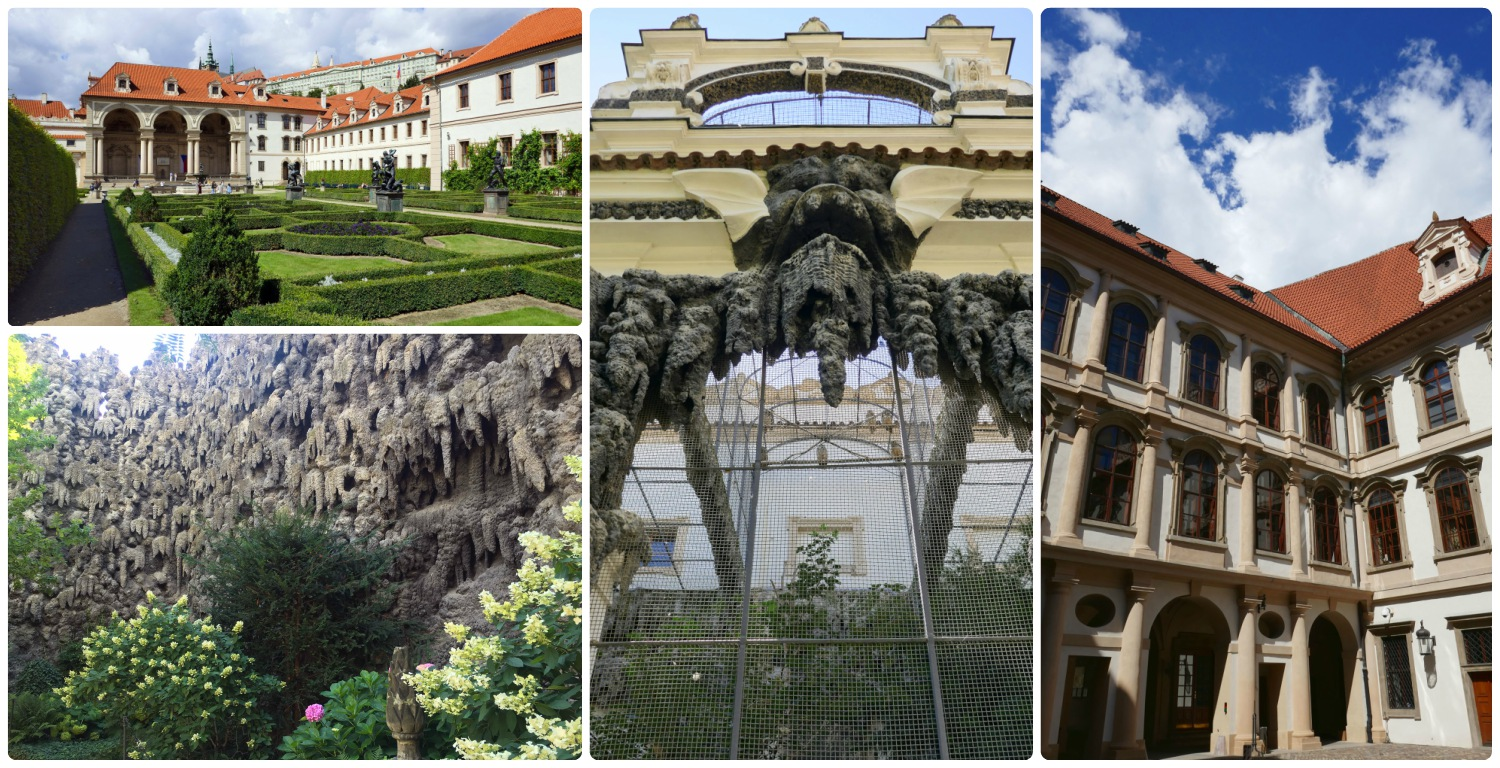 The gardens and grotto at Wallenstein Palace and Parliament are unique and interesting. When visiting, don't forget to stop by the owl exhibit and see if you can spot the owls!