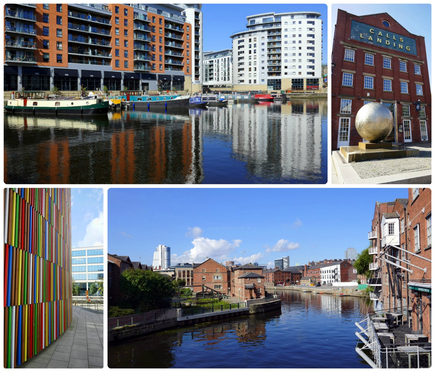 The walk to the Royal Armouries Museum was full of great views and colorful architecture. The only better way to get to the museum might be the  Leeds Dock Water Taxi  (it's free)!