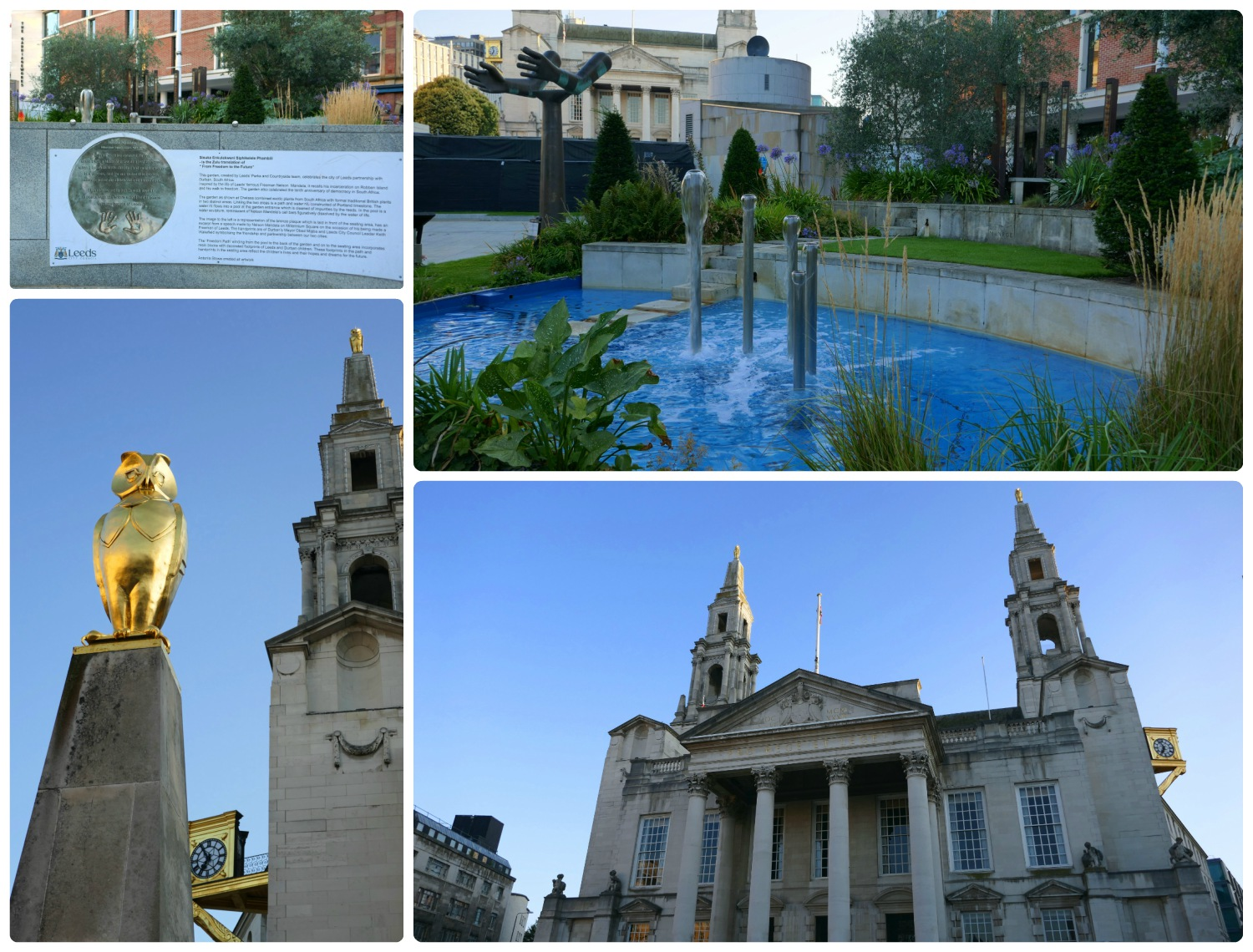 At the center of city events,Millennium Square is surrounded by wonderful architecture and the Nelson Mandela Gardens.
