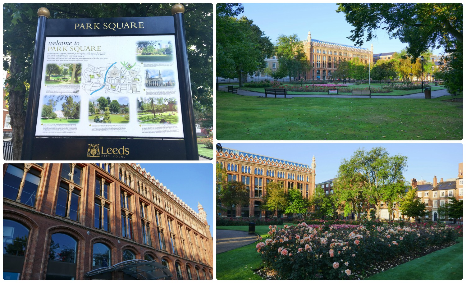 Park Square is a wonderful garden that's an escape from the busy city that surrounds it!