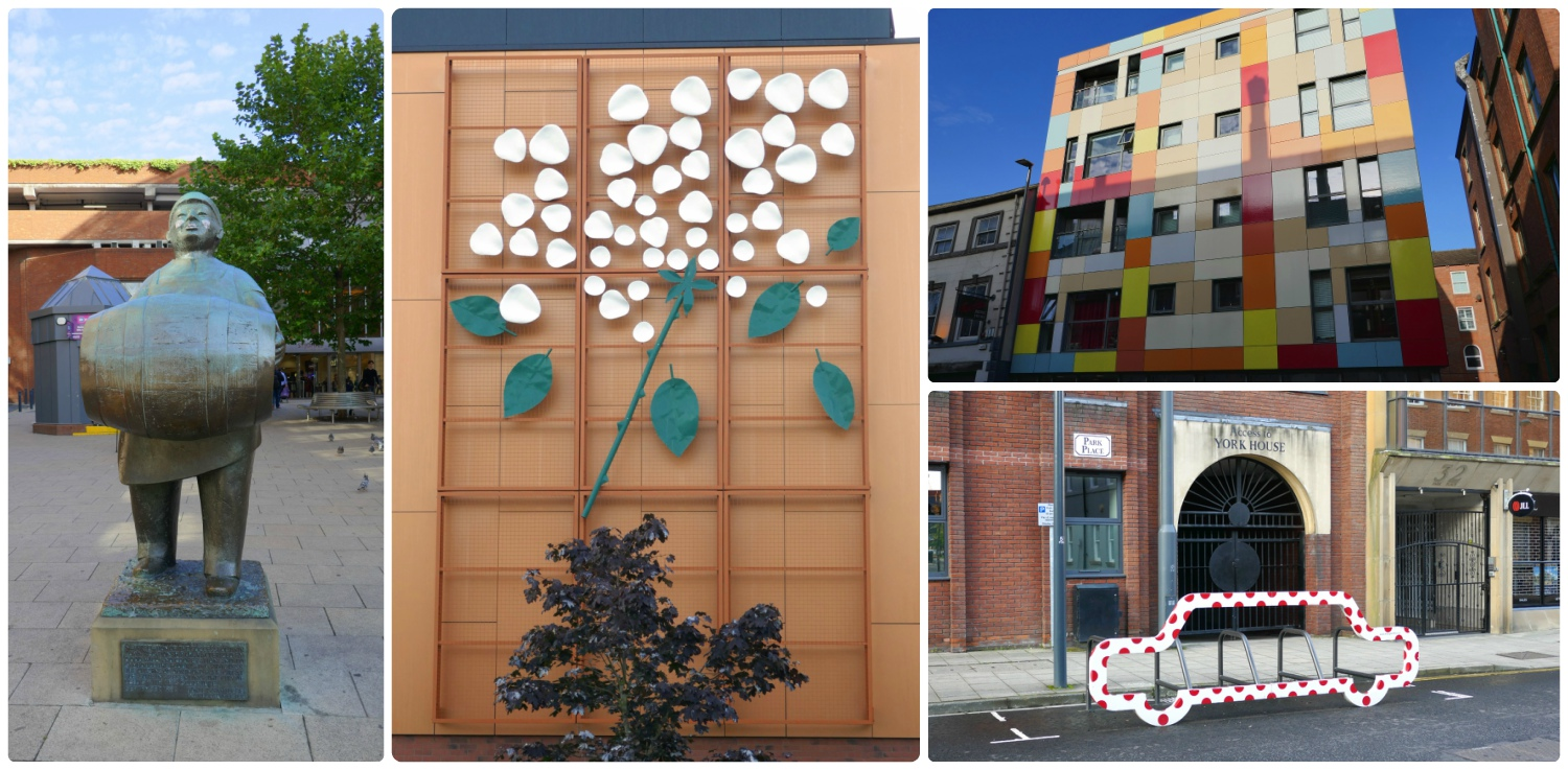 We didn't expect so much art around town, but we sure enjoyed it!
