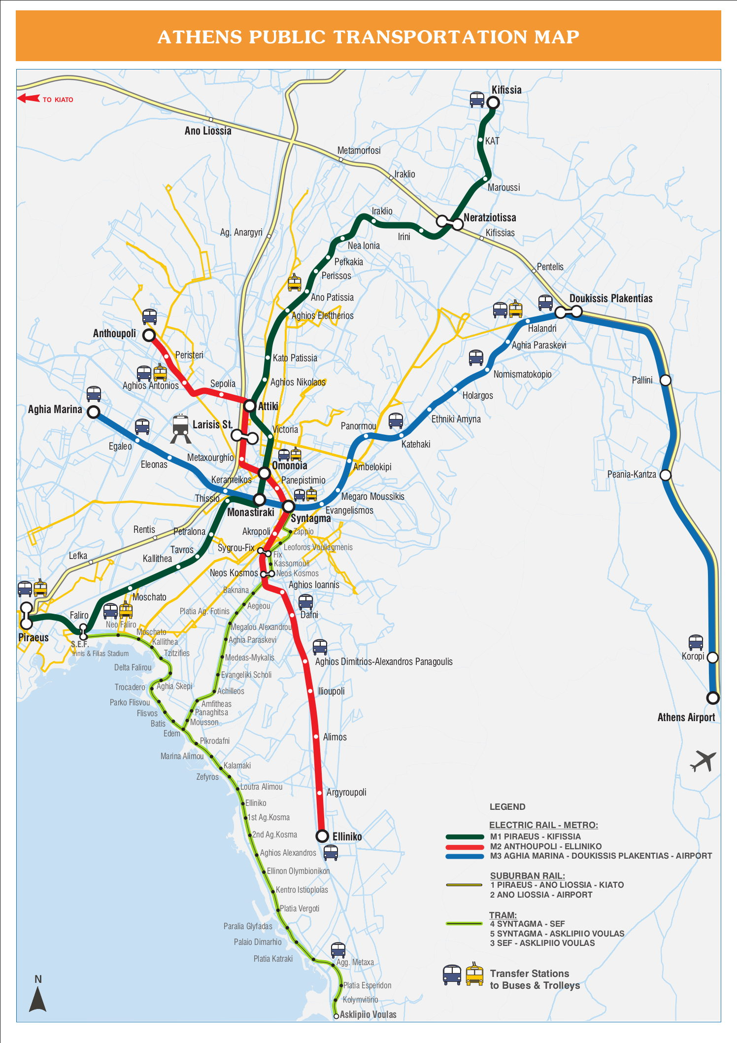 Subway Map Athens Greece.City Guide To Athens Greece Part 1 Public Transportation