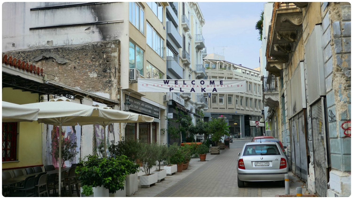 Plaka is a very well known neighborhood in Athens!